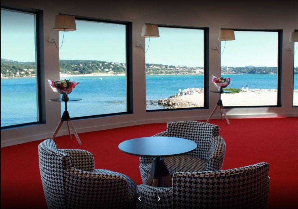 Vue panoramique Casino Bandol