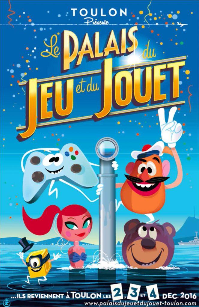 Palais du jeu et du jouet 2016 Palais Neptune Toulon