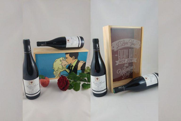 Persowine personnalisation gravure bouteilles de vin Toulon Six-Fours