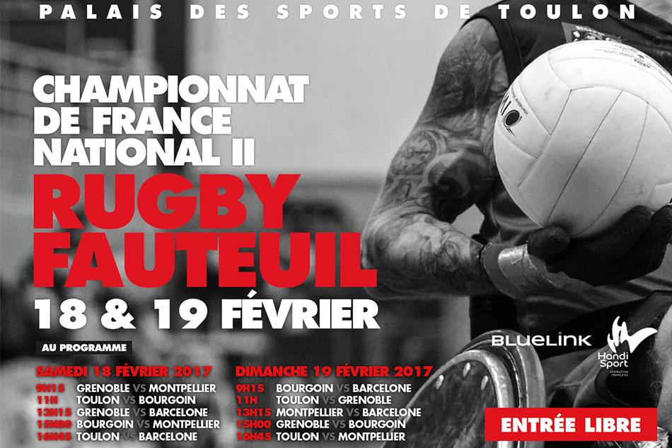 Rugby Fauteuil Toulon