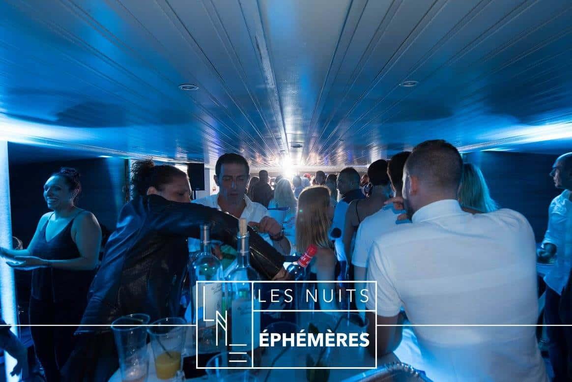Les Nuits Éphémères - Bateau Bandol