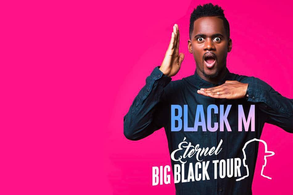 Black M concert Sainte-Maxime