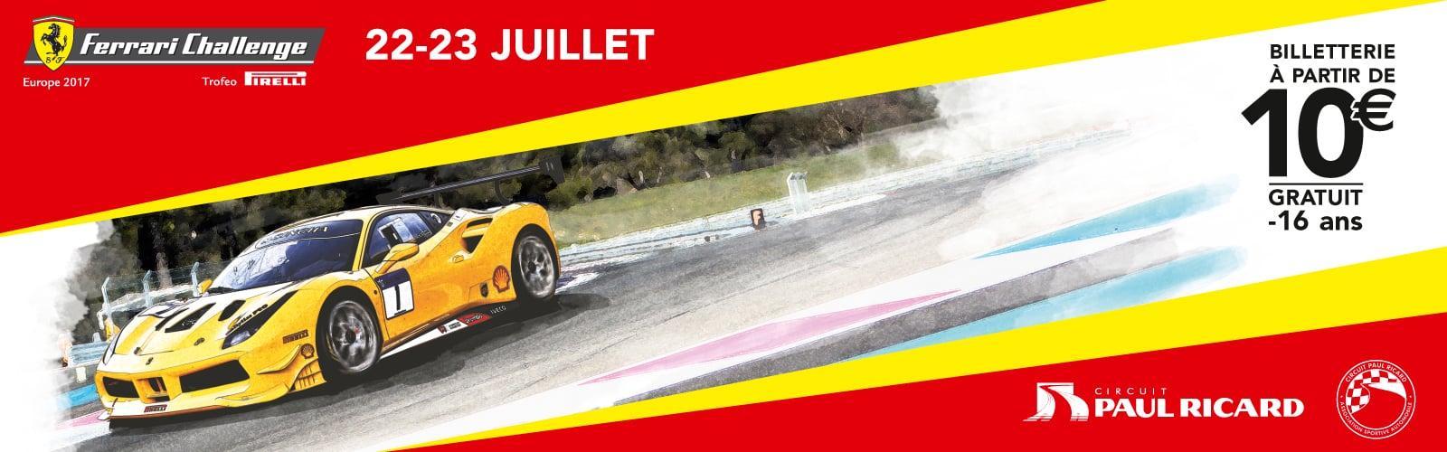 Ferrari Challenge Circuit Paul Ricard 2017