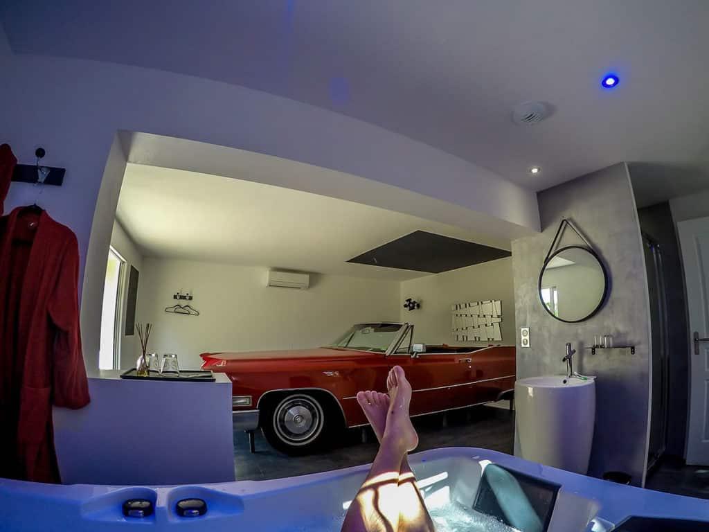 Cadillac hébergement insolite Var