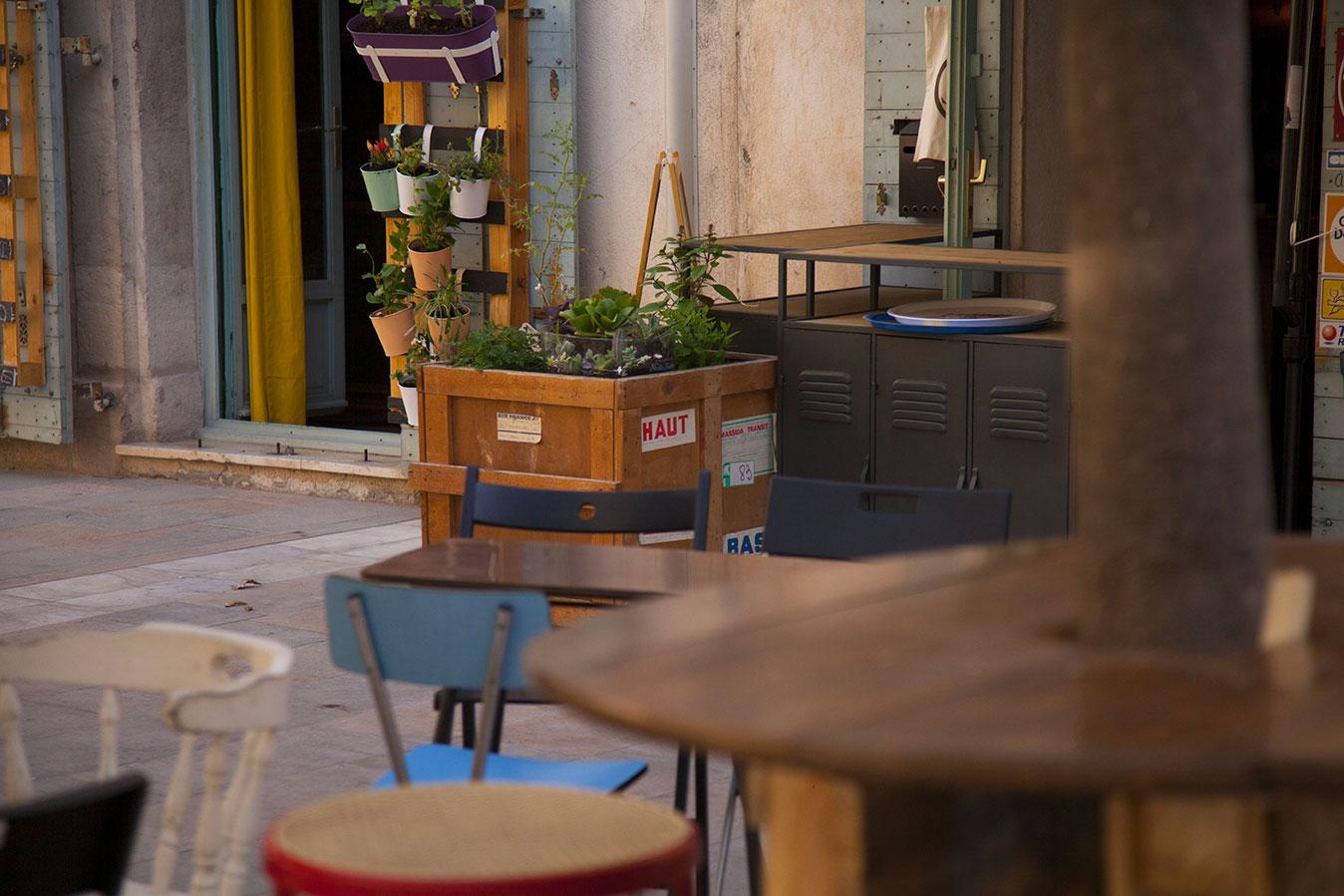 Brun Noir coffee shop bar Toulon
