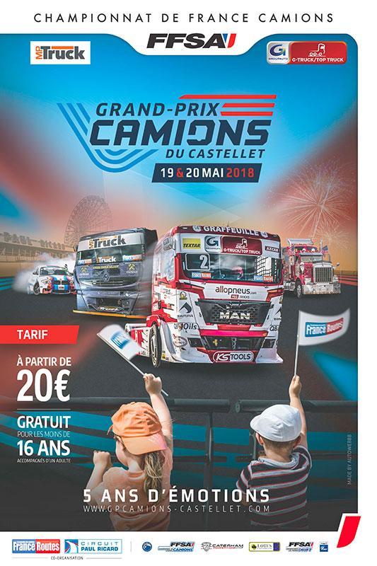 Affiche GP Camions 2018