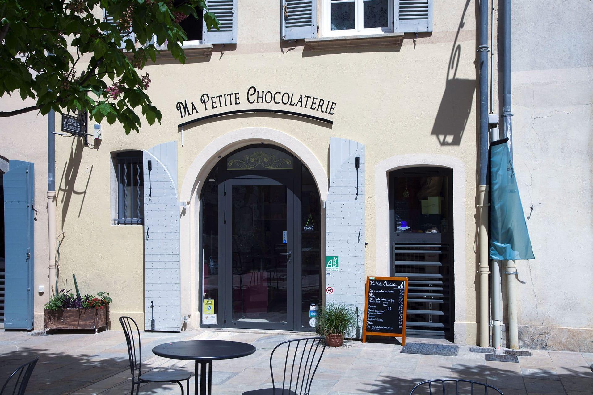 Ma Petite Chocolaterie quartier des arts Toulon