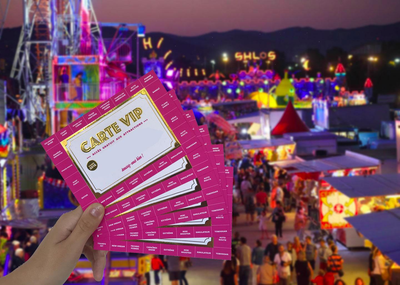 Magic World cartes VIP