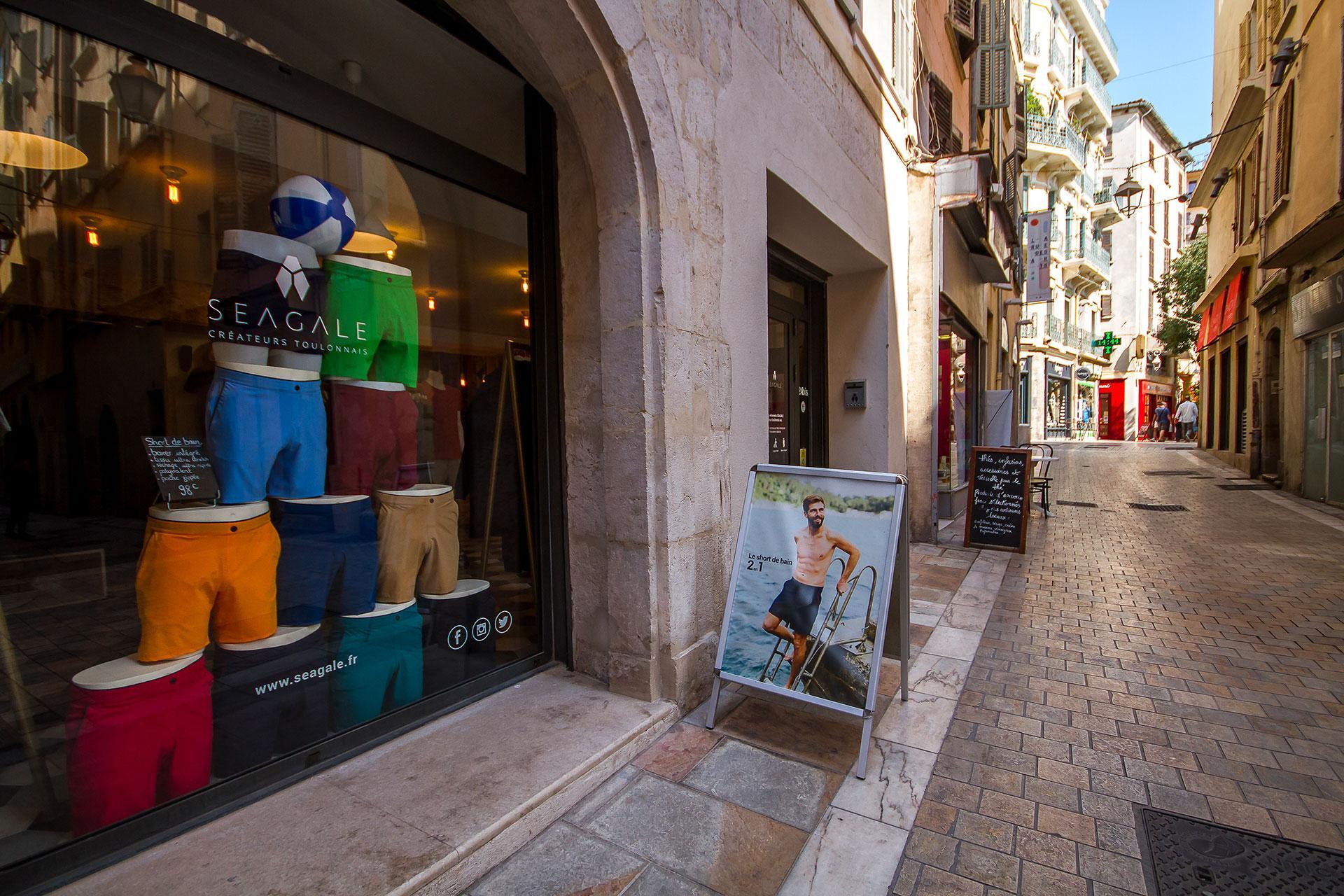 Seagale boutique extérieur