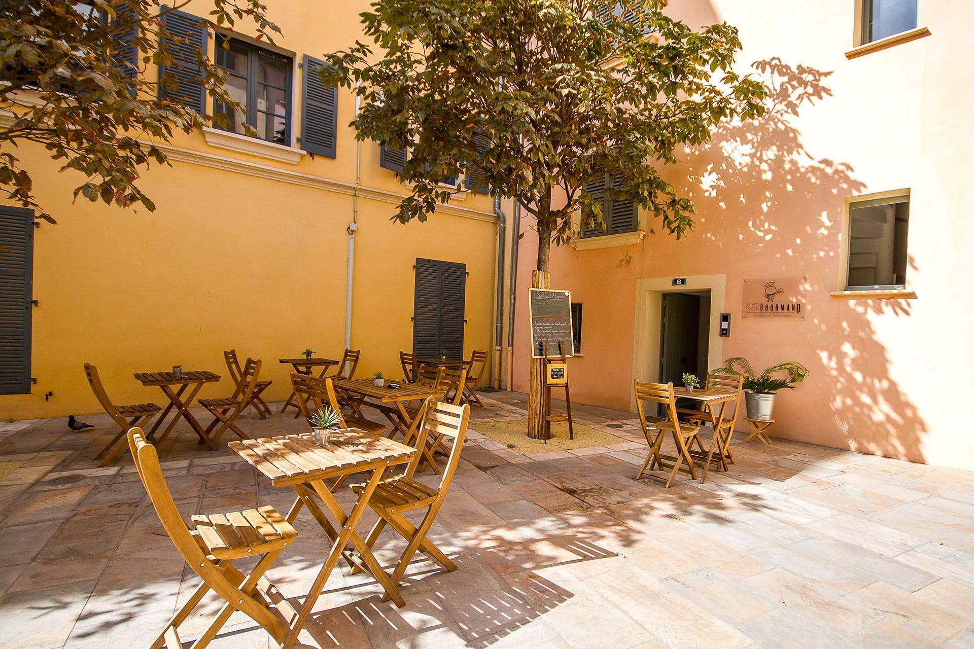 Sain-Gourmand Toulon restaurant bio