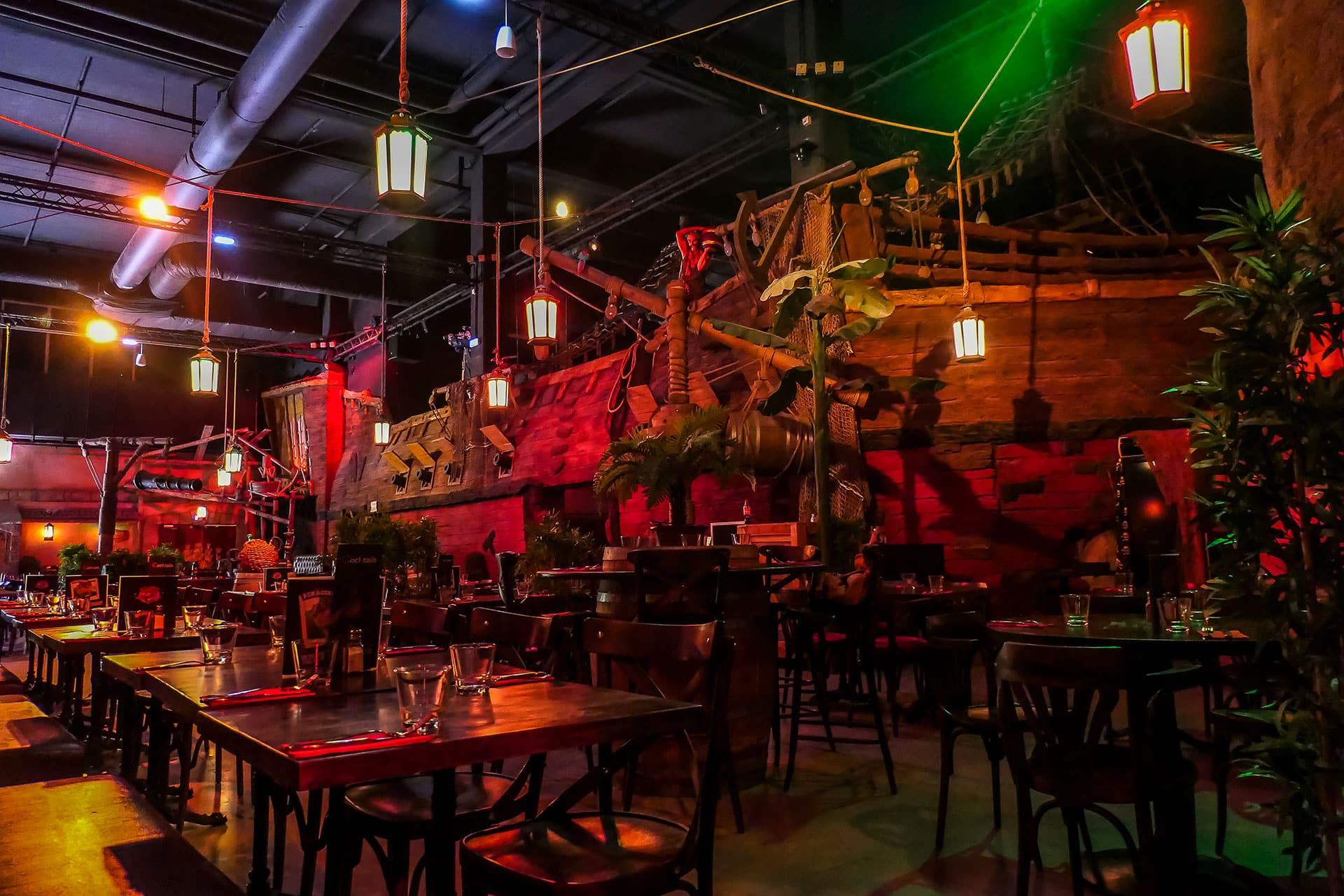 Restaurant Pirates Aventures