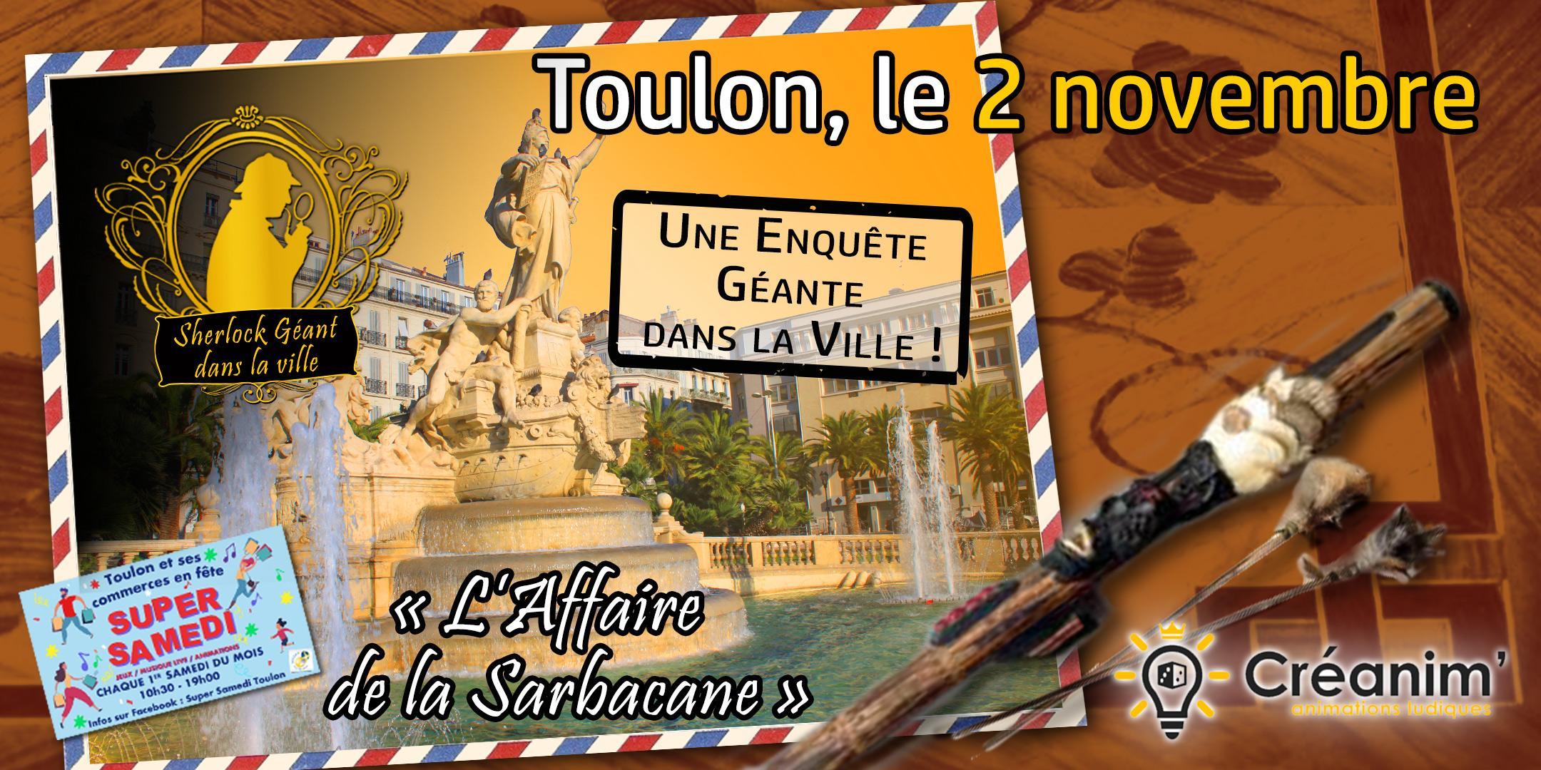 Enquête géante Toulon