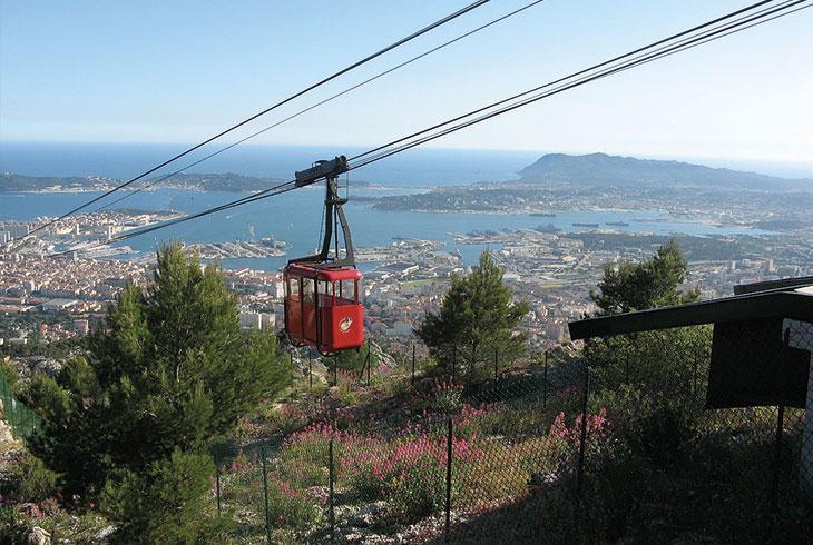 Téléphérique Mont Faron