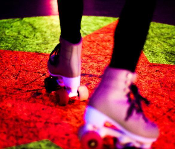 Roller Gliss piste de roller néon La Garde