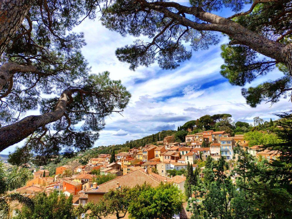 Bormes les Mimosas village Var