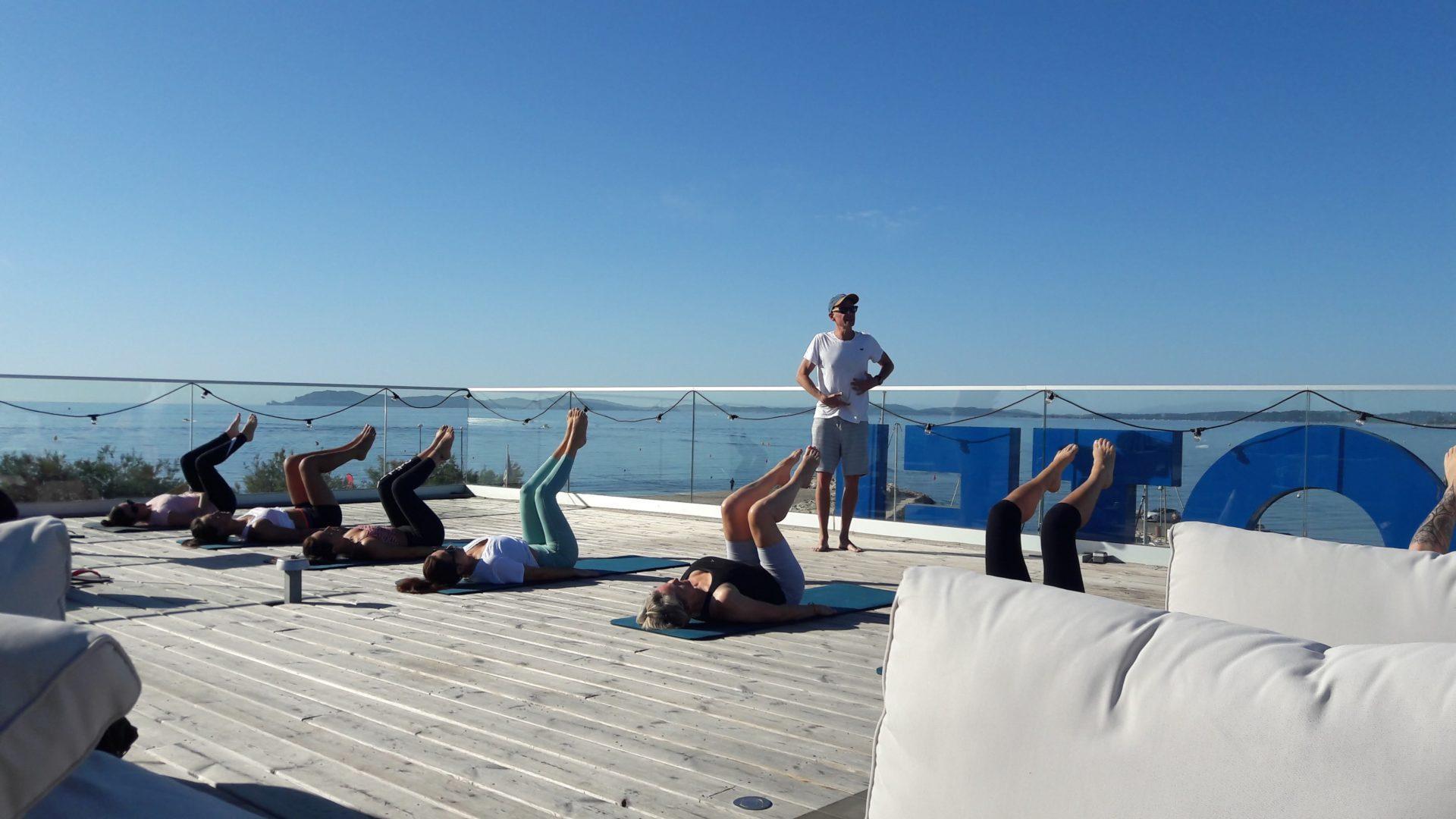 Pilates à Hyères rooftop