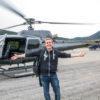 Hélicoptère dans le Var