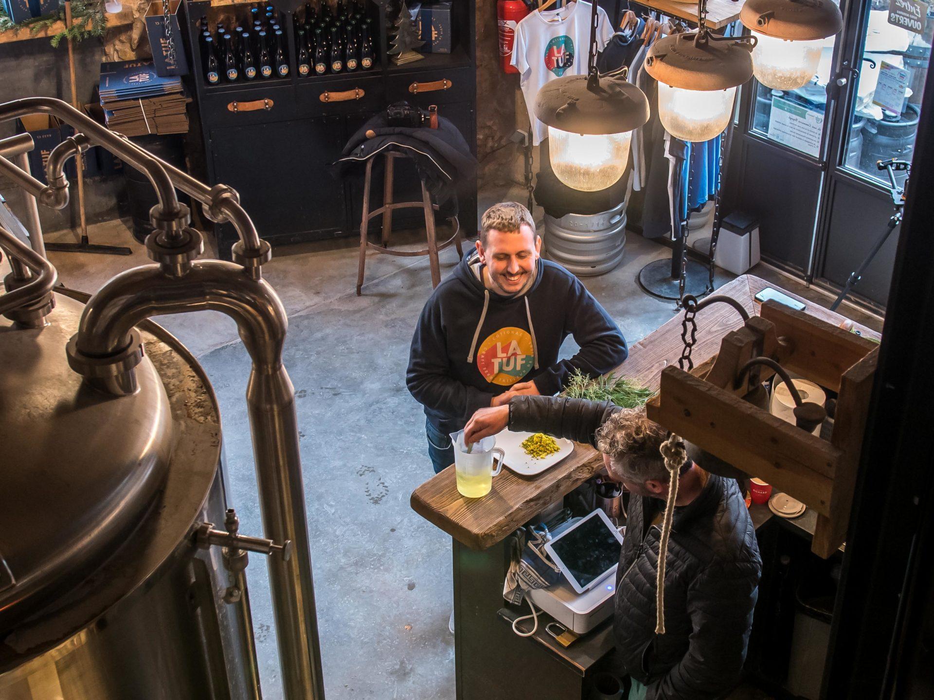 Infusion bière mimosa LEVAROIS