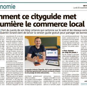 Article Var Matin cityguide LEVAROIS