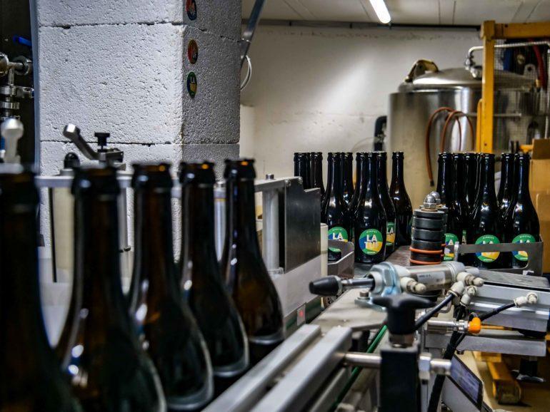 Étiquettage bière LA TUF