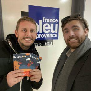 Arnaud Puxeddu et Quentin Evrard France Bleu